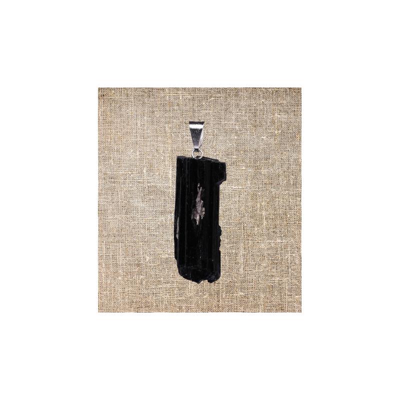 colgante turmalina negra